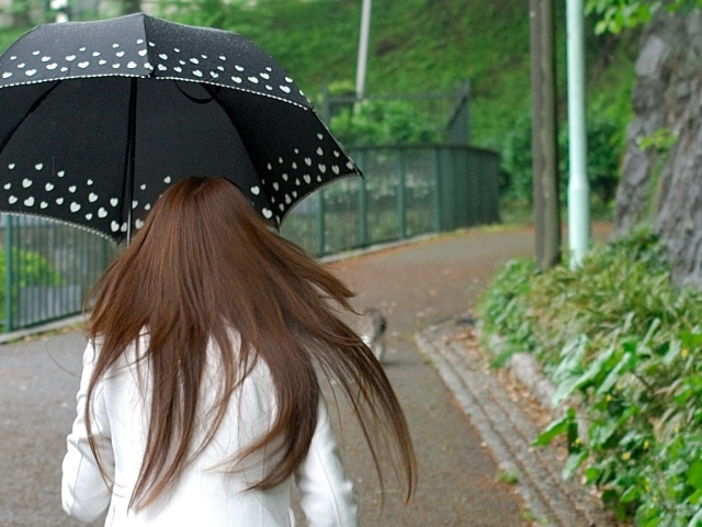 梅雨時期は髪の毛が広がって困る…雨が降った時の髪の毛の湿気対策!
